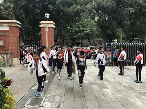 福建漳州龙溪师范附属小学监控工程案例分享
