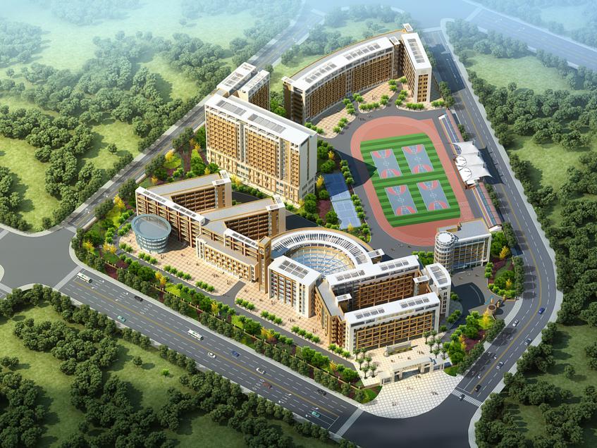 广东省惠州一中实验学校监控工程案列