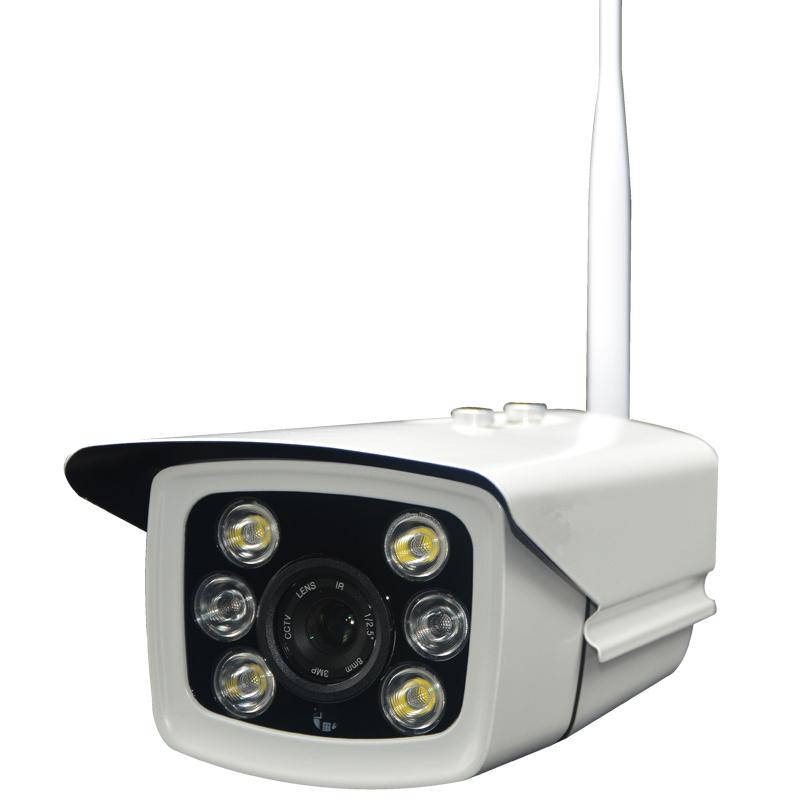 智能日夜全彩无线网络高清摄像机-WF869S-ZD